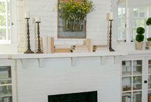 bungalow fireplace