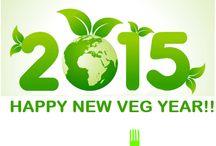 Happy New Veg Year / Vegan