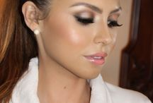 Wedding makeup. / by Katie Gates