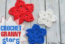 crochet motifs n roses