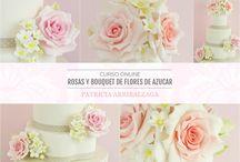Cursos Online de Patricia Arribálzaga / http://www.cakeshautecouture.com/cursos/