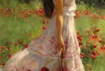 Kadın tablo
