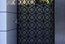 Porți metal