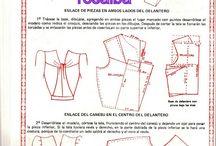 corte y confeccion / patronaje costura
