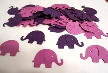 MRM 1st bday party ideas / thinking purple....elephants seem to have a special meaning in Matilda's life as we've been given TONS of elephant gifts from day one. the first stuffed animal I bought when I found out I was pregnant was an elephant <3