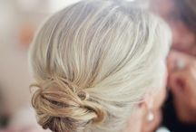 Brides maid's hair