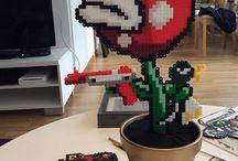 Hama Beads Super Mario / Pyssel