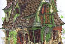 Mystische und verwunschene Orte und Häuser
