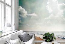 Fotobehang woonkamer