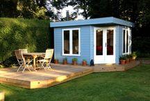 summer house and garden ideas