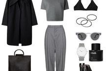 Grey Capsule Wardrobe