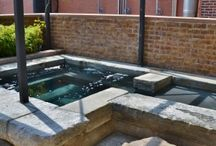 Custom Spas / Everyone loves a custom spa included with their inground pool - we can design and build any size or style