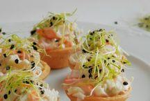 Tartaletas saladas