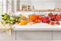KOLOROWA KUCHNIA / Kolorowe akcesoria kuchenne