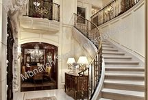 French Limestone Flooring / French Limestone flooring and paving; from areas in France such as Limeyrat, Burgundy, also known as Dalle De Bourgogne, Dalle de France, Marly, Giverny, and many more. Interior/exterior architectural/dimension stone, veneers/cladding, flooring and other stone paving requirements.
