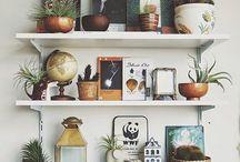 Statement shelves
