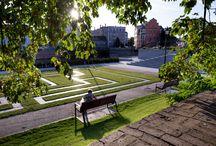 Wrocław - Bulwar Księdza Aleksandra Zienkiewicza / Bulwar Księdza Aleksandra Zienkiewicza – trzecie miejsce w kategorii obiekt inżynierski, przestrzeń publiczna– wykonawca Park-M w konkursie Piękny Wrocław 2016