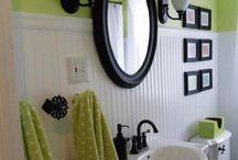 bathroom ideas / by Anna Lolley-Ball