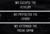 AMERICAN HORROR STORY / AMERICAN HORROR STORY :  - Murder House - Asylum - Coven - Freak Show - Hotel