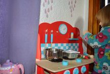 The Playroom / Ideas for childrens playrooms, bedrooms and living rooms.