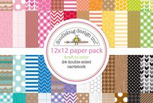 doodlebug kraft in color collection / by doodlebug design inc.