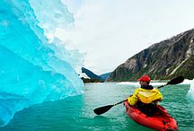 Icy Paradise / Cold Alaskan kayaking or whale watching in Canada. Whatever it is, we think these icy getaways are Heaven on Earth.