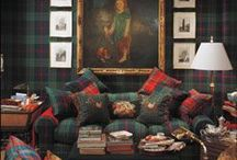 English Country Livingrooms