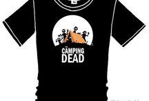Camisetas / Camisetas con ilustraciones de Manu Vidal.