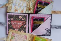 Papier Teeverpackungen