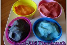 Play Dough from Koolaid
