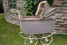 Gamla barnvagnar