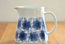 Finnish jugs and kettles / Arabia, Marimekko...