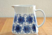 Finnish jugs and kettles / Arabia, Marimekko...