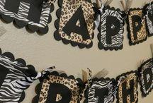 animal print party theme