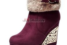 snow boots / snow boots, fashion ladies' boots