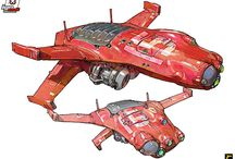 Concept Art - Vehicles