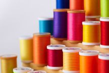 buttons, spools and threads / collections of beautiful buttons and gorgeous threads #buttons #threads #spools / by Karen Roark