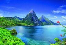 Santa Lucia,Caribbean Islands