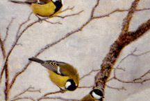 NIILO VAINIO / Piikkiöläinen pienoismallien rakentaja ja lintumaalari  syntynyt 1927