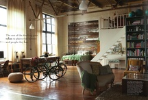 LOFT LIVING / by Erin Booth