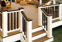 ideas for restoring the deck / by Morgan Mattheyer