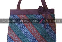 Tas Batik Bags / budget canvas or #batik #tote bag #pattern no leather