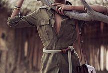 safari editorial fashion