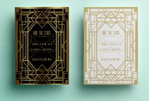 save the date art deco