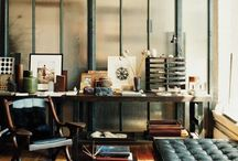Beautiful Home Office Inspiration  / Beautiful home offices ideas for WAHM's and other small and home businesses. http://bizzymamahosting.com