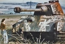 WW2 Tanks in Colour / Images of WW2 era tanks in colour