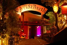 Restaurant Le Ti St Barth / LE TI ST BARTH - located on Pointe Milou International Cuisine - Caribbean tavern - traditionnal charcoal BBQ After dinner at Le Ti St-Barth, showgirls dance on the tables More Infos http://www.saint-barths.com/uk-18-sejour-resto-restaurants-st-barts-restaurant-le-ti-st-barth-cabaret.html