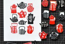Stamp Curving & Block Printing