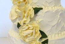 Wedding Cakes. / by Carolyn Rice