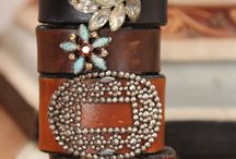 Leather jewels